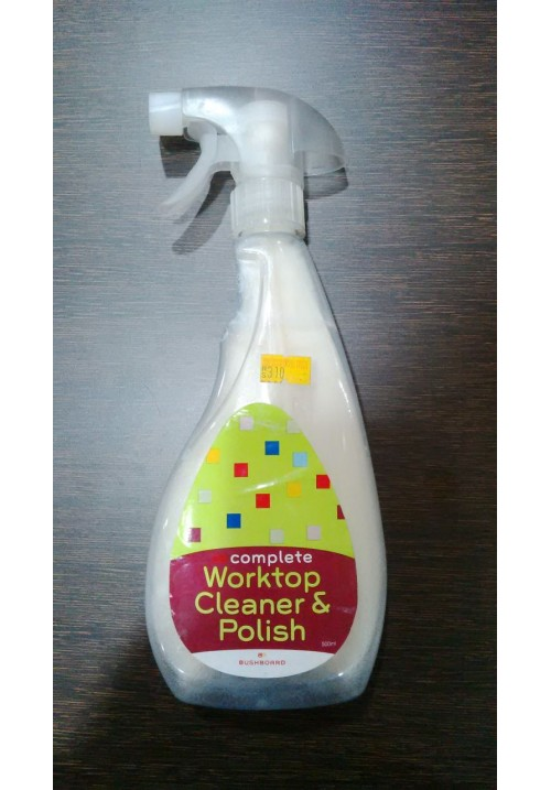 Bushboard Worktop Cleaner & Polish - 500 ml
