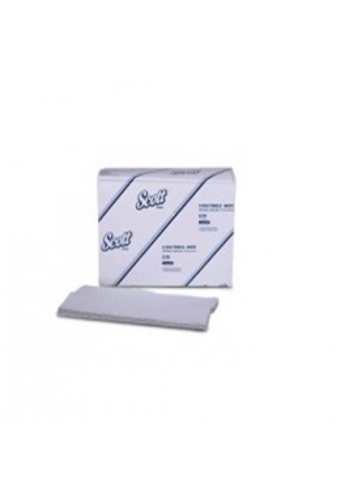 Scott  C Fold Towels - White