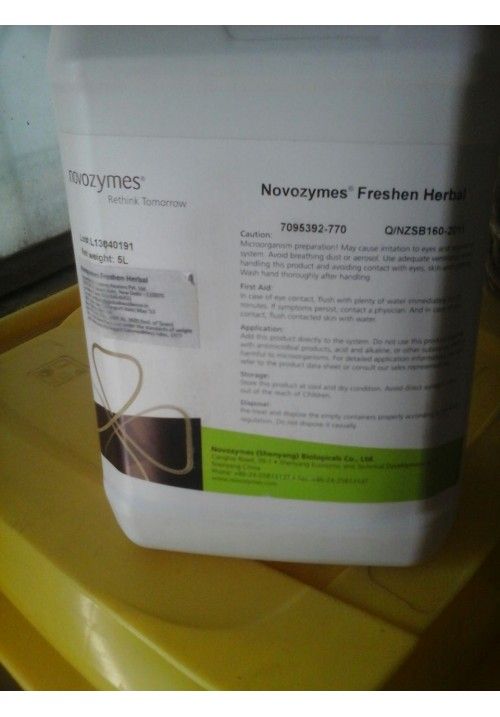 Novozyme Freshen Herbal - 5 liters