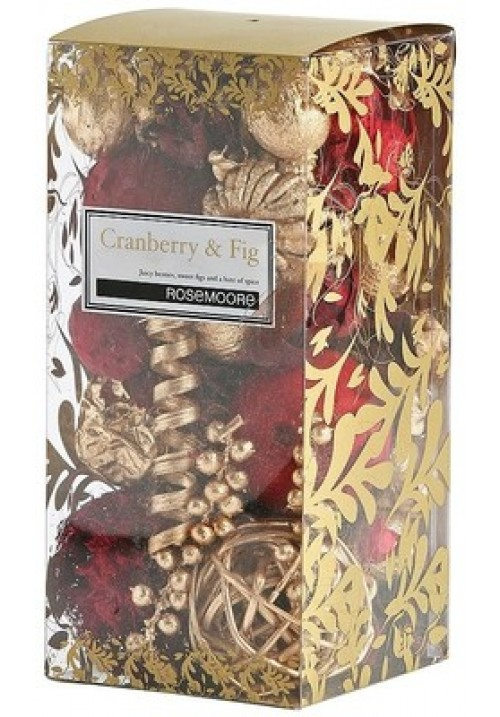Rose Moore Scented Pot Pourri - Cranberry & Fig