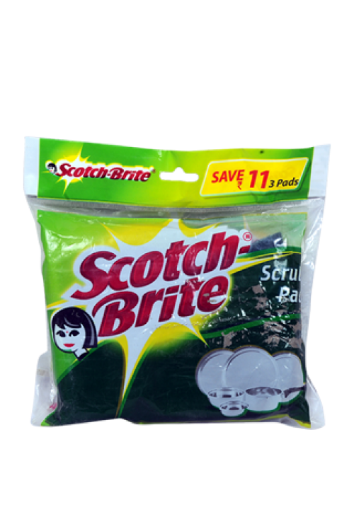 Scotchbrite Scrub Pad 3 in 1